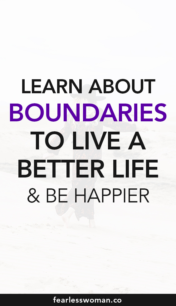 Boundaries Will Set You Free!