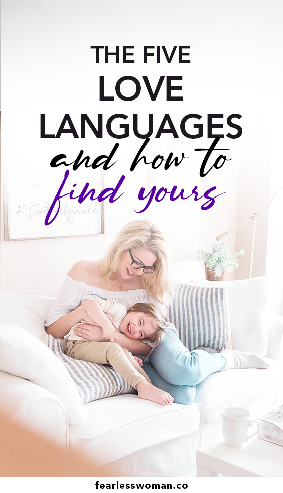 The five love languages and how to find yours