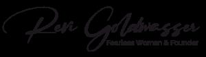 Revi Goldwasser | Fearless Woman - signature
