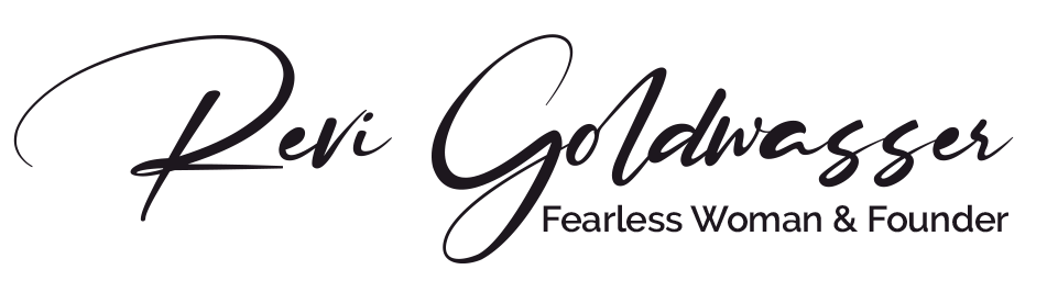 Revi Goldwasser | Fearless Woman - signature