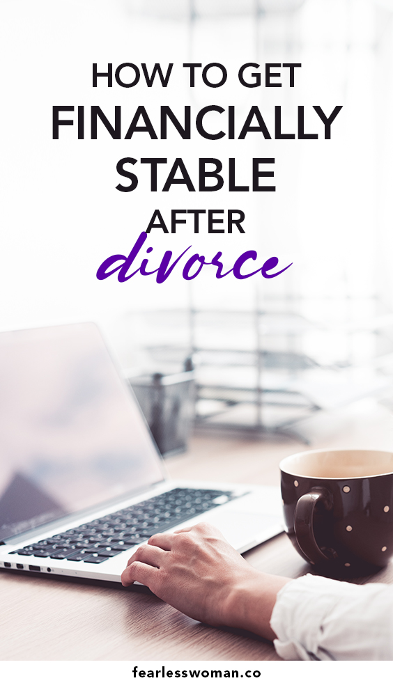 How to get financially stable after divorce
