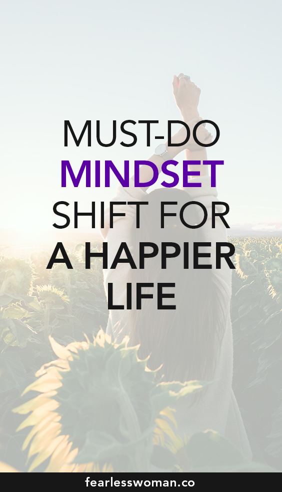 I matter: Must-do mindset shift for a happier life