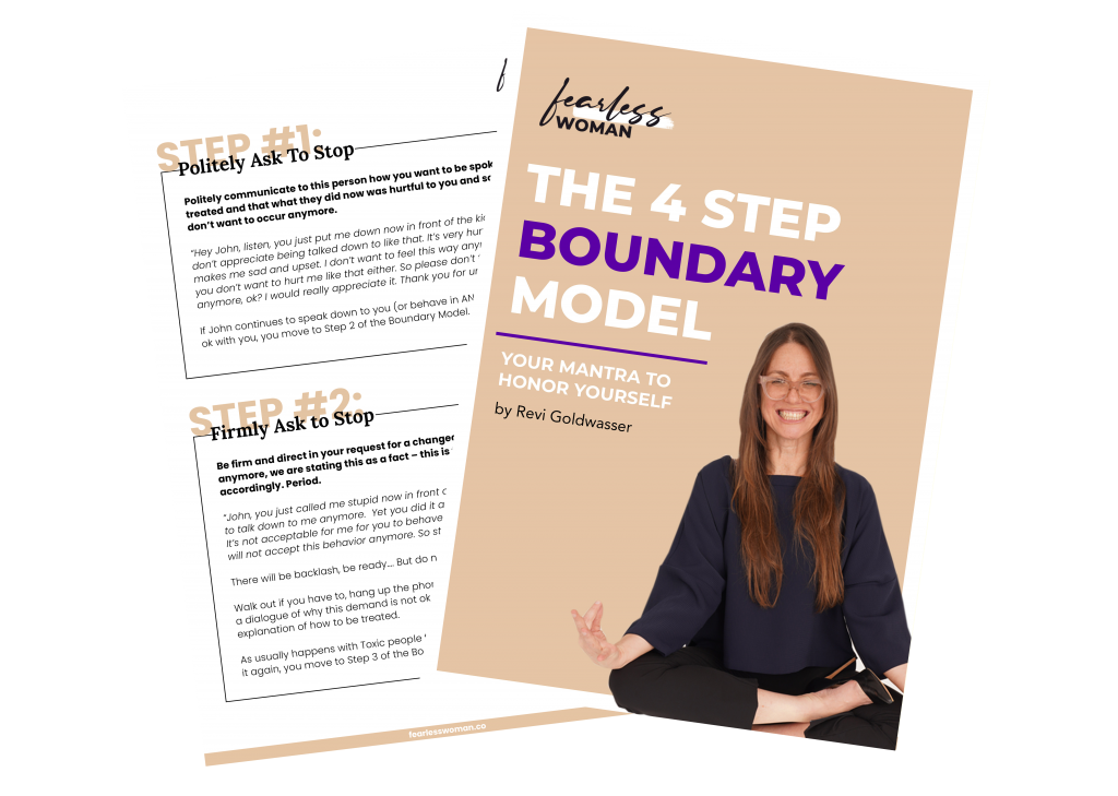 The 4 Step Boundary Model -