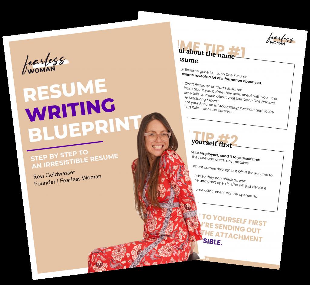 Resume Writing Blueprint