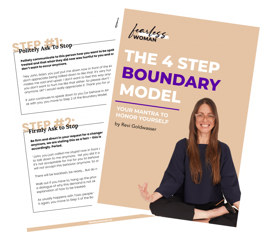 The 4 Step Boundary Model
