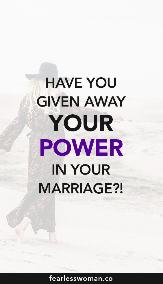 Own your power: have you given away your power