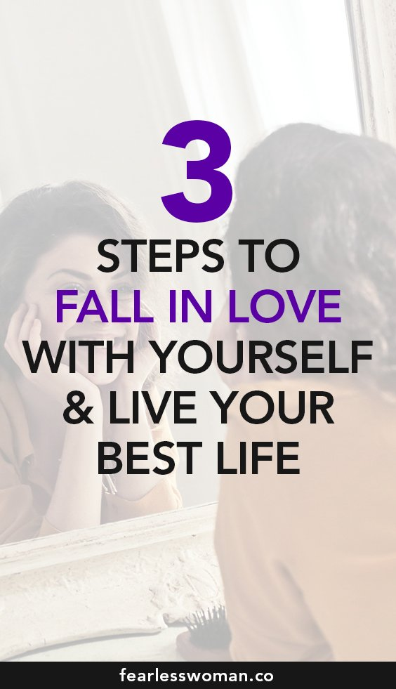 How to Love Yourself - 3 powerful ways to fall in love with YOURSELF!