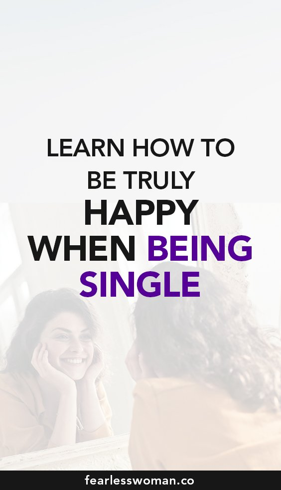 How to be happy alone?