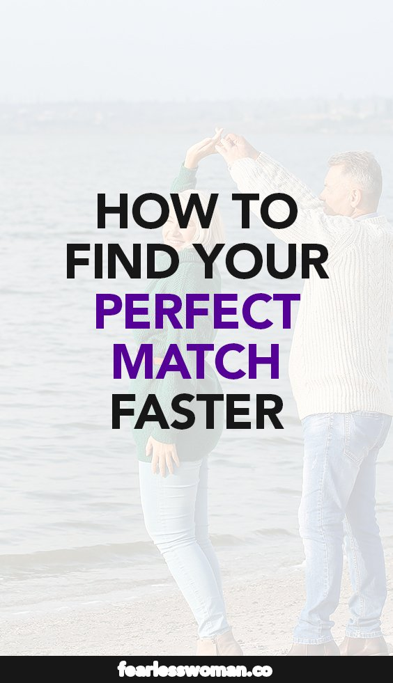 The first step to finding the perfect man